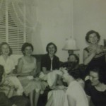 Mom (bottom RT) in undergrad at Meredith College - noted Biblical scholar Phyllis Trible (Middle) was her roomate