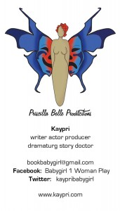 Priscilla Belle Productions card (2)